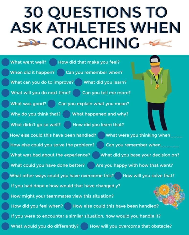 Ask Athletes when Coaching